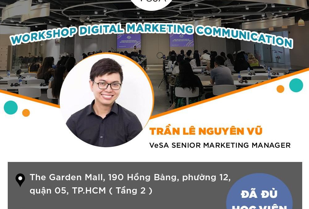 WORKSHOP DIGITAL MARKETING COMMUNICATION 29/2/2020