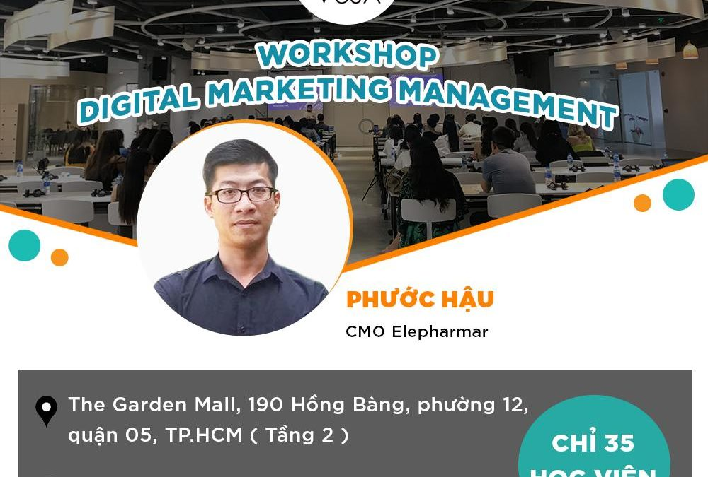 WORKSHOP DIGITAL MARKETING MANAGEMENT 21/03/2020