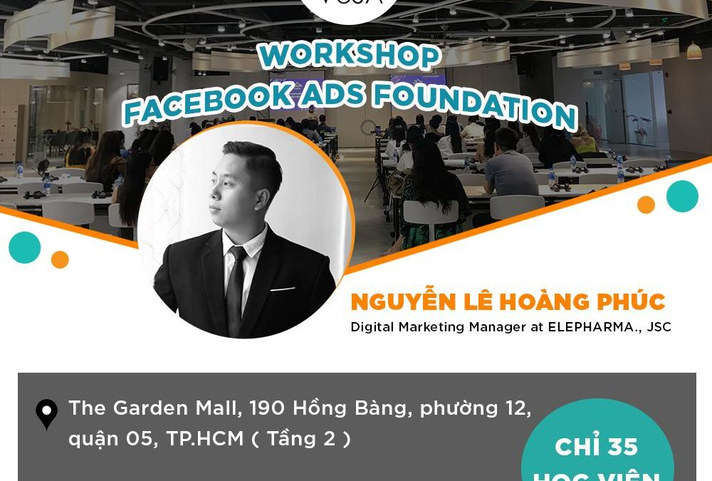 WORKSHOP FACEBOOK ADS FOUNDATION 28/03/2020